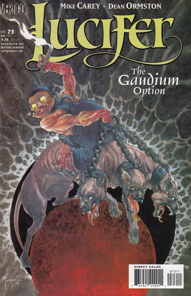Couverture de Lucifer (2000) -73- The Gaudium Option