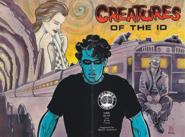 Couverture de Creatures of the id (1990) -1- Creatures of the id #1