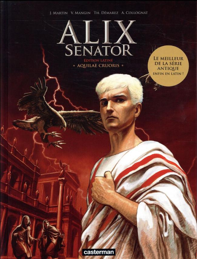 Couverture de Alix Senator (en latin / grec) -1- Aquilae Cruoris