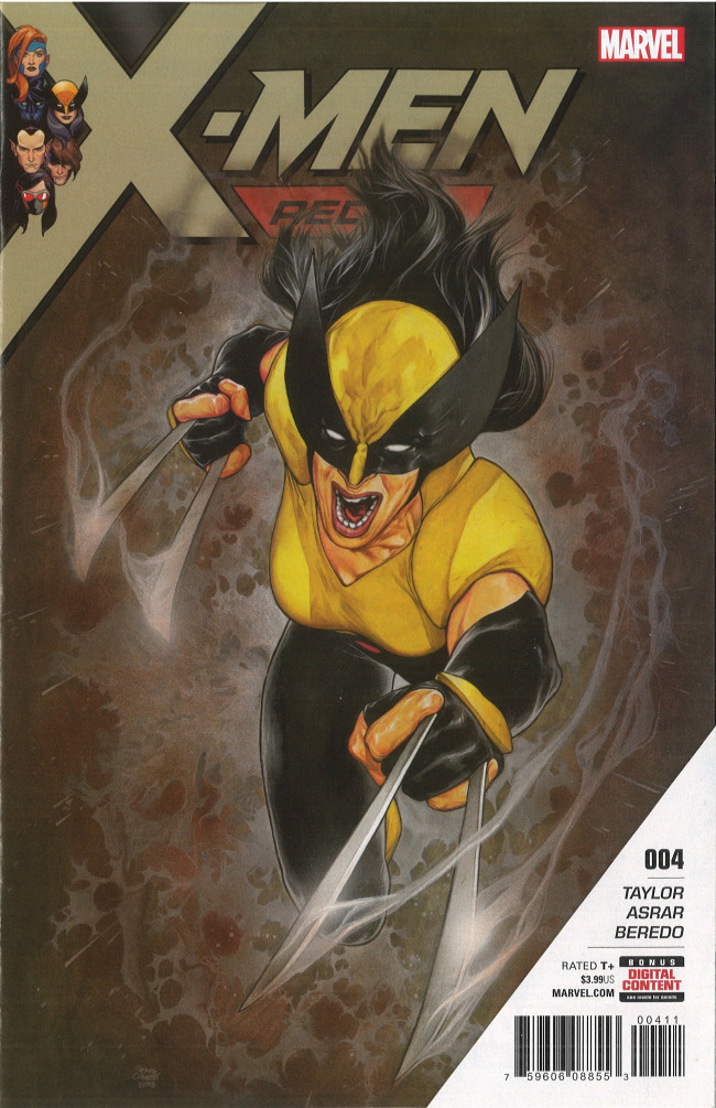 Couverture de X-Men: Red (2018) -4- Part 4: Small Problem