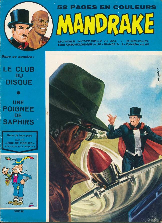 Couverture de Mandrake (1re Série - Remparts) (Mondes Mystérieux - 1) -404- le club de disque