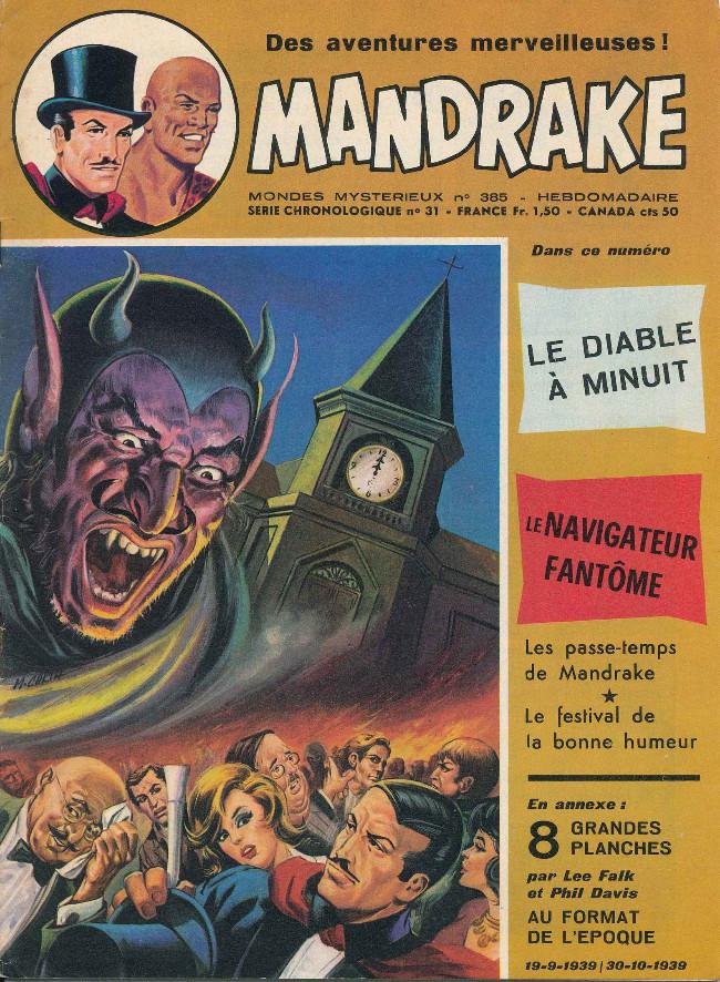 Couverture de Mandrake (1re Série - Remparts) (Mondes Mystérieux - 1) -385- Le diable à minuit