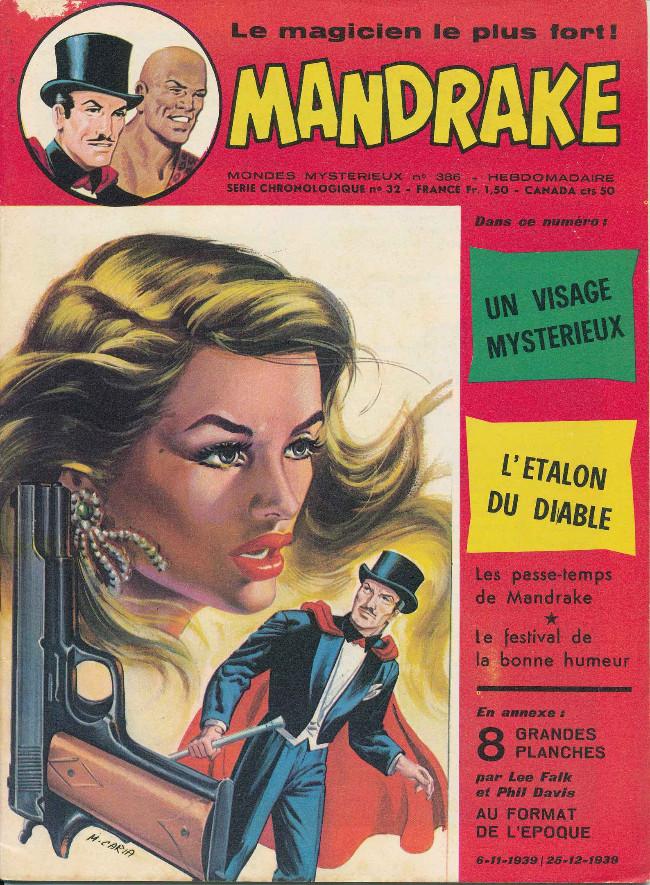 Couverture de Mandrake (1re Série - Remparts) (Mondes Mystérieux - 1) -386- Un visage mystérieux