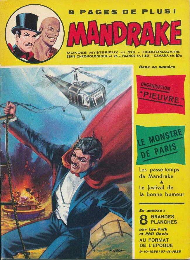Couverture de Mandrake (1re Série - Remparts) (Mondes Mystérieux - 1) -379- Organistation