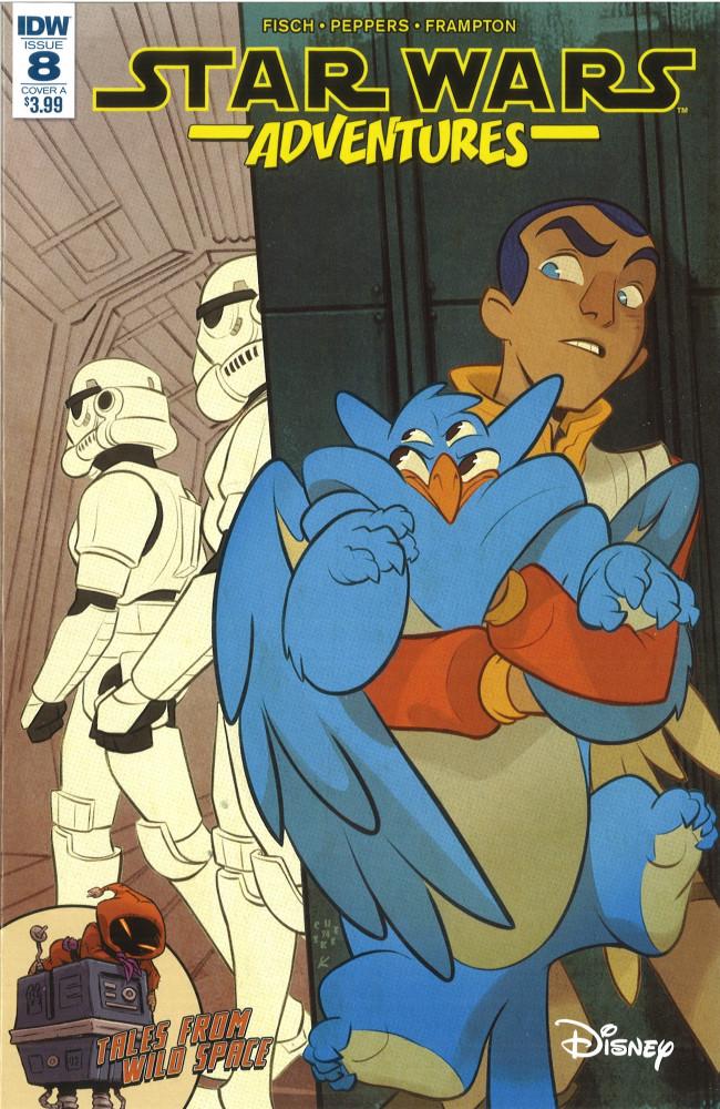 Couverture de Star Wars Adventures (2017) -8- Endangered Part 2