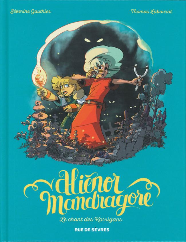 Couverture de Aliénor Mandragore -4- Le Chant des Korrigans