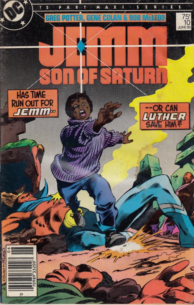 Couverture de Jemm, son of Saturn (1984) -10- Rebirth