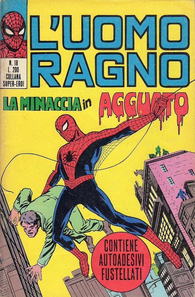 Couverture de L'uomo Ragno (Editoriale Corno) V1 -18- La Minaccia in Agguato