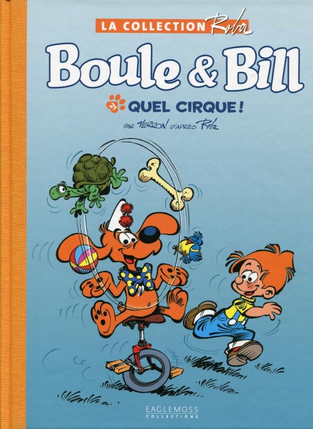 Couverture de Boule et Bill -15- (Collection Eaglemoss) -2140- Quel cirque !