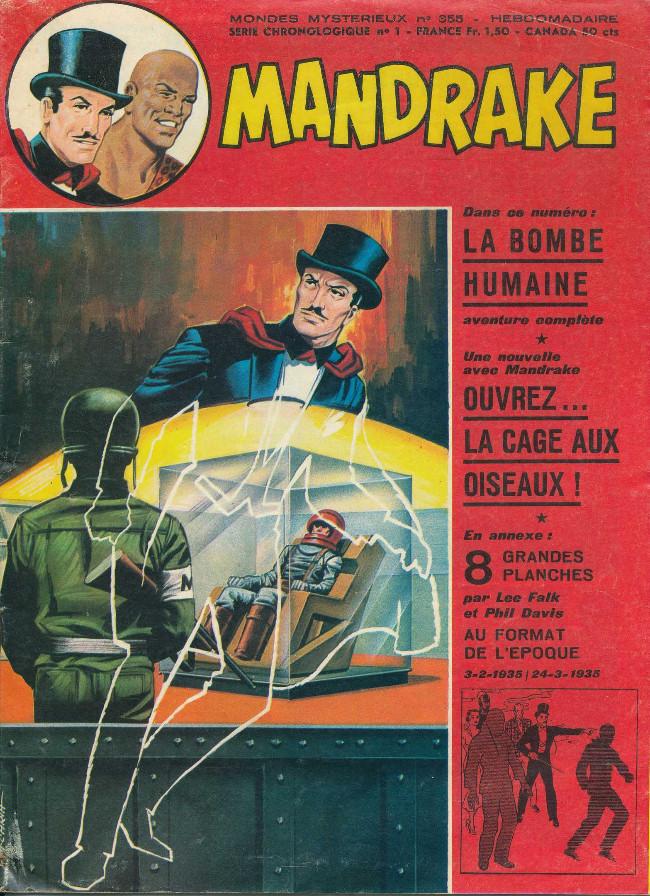Couverture de Mandrake (1re Série - Remparts) (Mondes Mystérieux - 1) -355- la bombe humaine