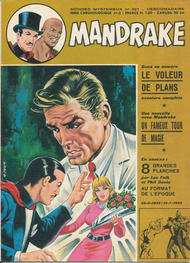 Couverture de Mandrake (1re Série - Remparts) (Mondes Mystérieux - 1) -357- le voleur de plans