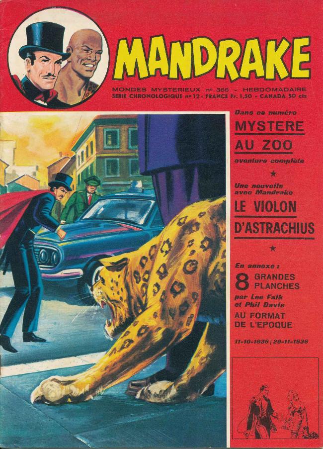 Couverture de Mandrake (1re Série - Remparts) (Mondes Mystérieux - 1) -366- le violon d'Astrachius