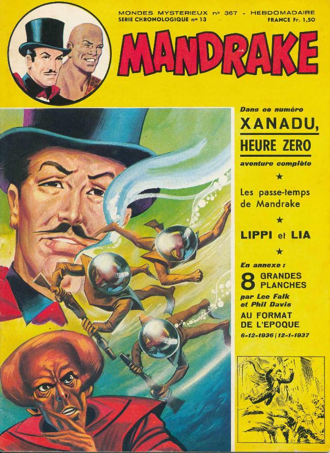 Couverture de Mandrake (1re Série - Remparts) (Mondes Mystérieux - 1) -367- Xanadu, Heure Zéro