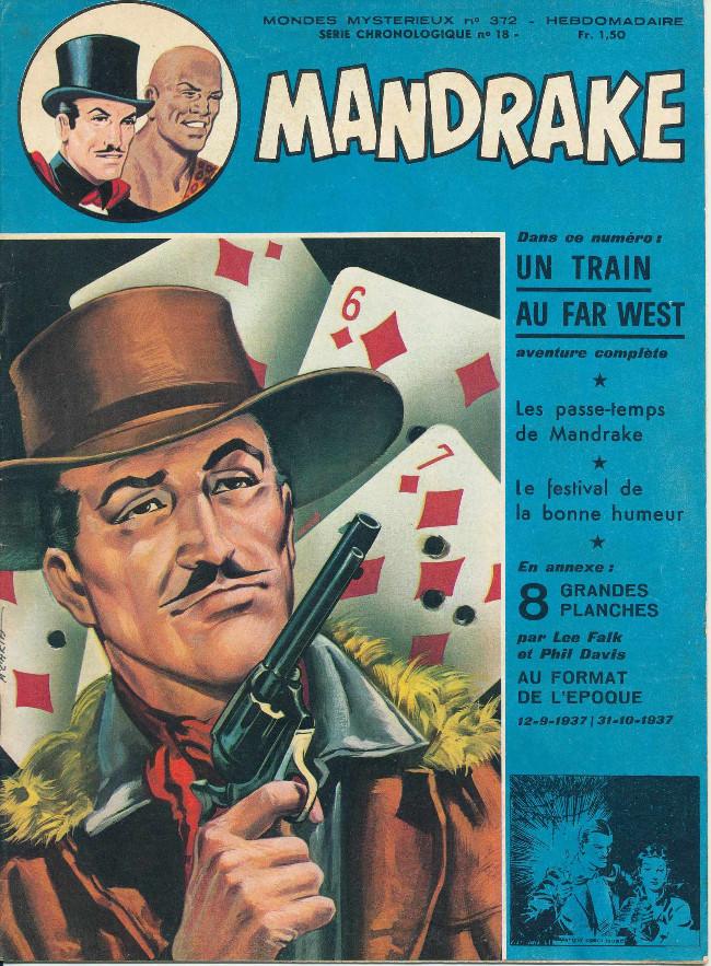 Couverture de Mandrake (1re Série - Remparts) (Mondes Mystérieux - 1) -372- Un train au Far West
