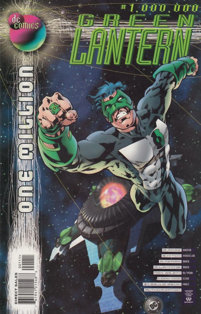 Couverture de Green lantern (1990) -1000000- Star crossed