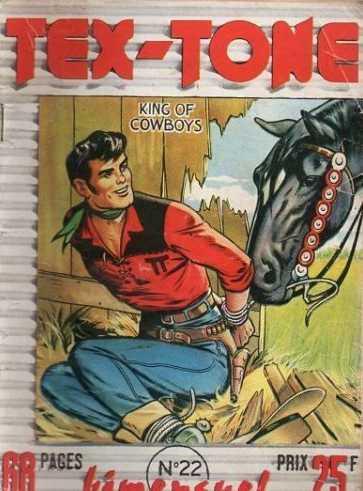 Couverture de Tex-Tone -22- Tex-Tone et les belliqueux voisins...!