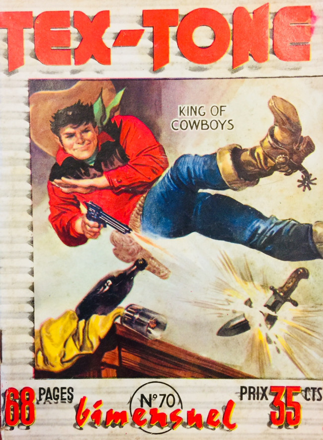 Couverture de Tex-Tone -70- La rançon