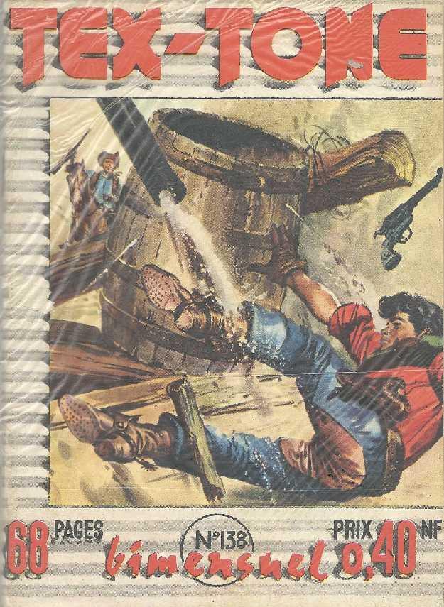 Couverture de Tex-Tone -138- La vengeance de El Fox