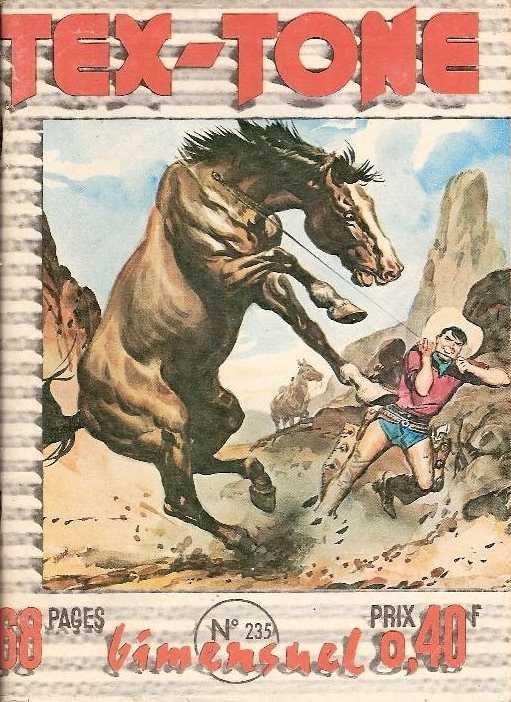 Couverture de Tex-Tone -235- Rien qu'un cow-boy