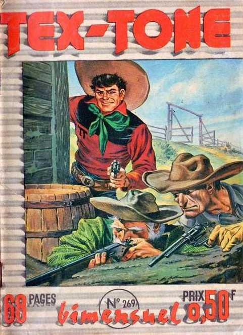 Couverture de Tex-Tone -269- Poker de bandits