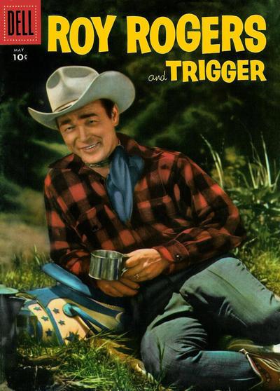 Couverture de Roy Rogers and Trigger (Dell - 1955) -101- (sans titre)