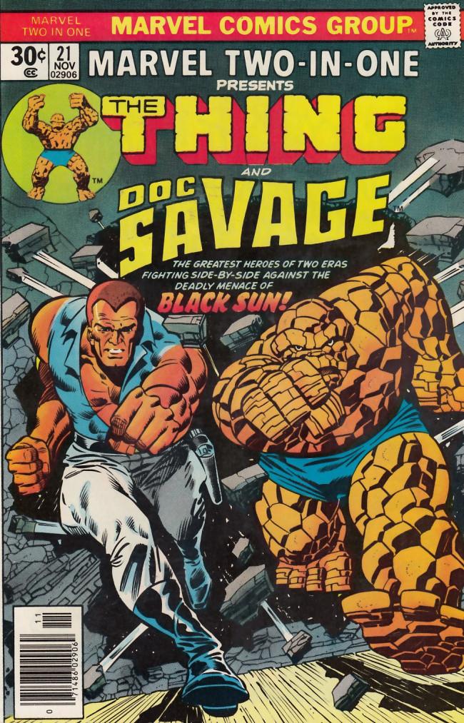 Couverture de Marvel Two-In-One (1974) -21- Black Sun Lives!