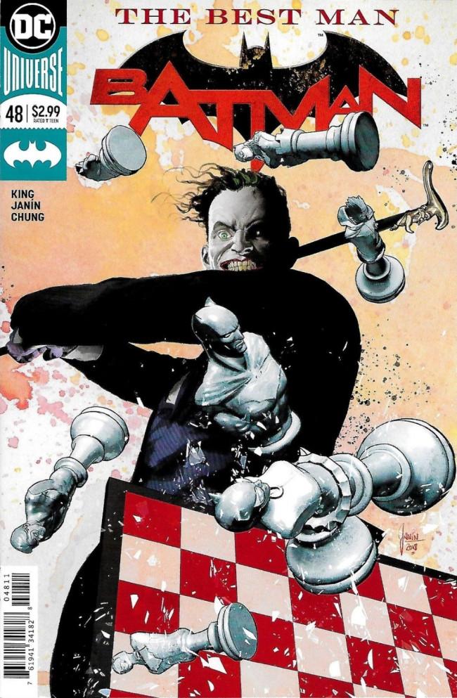 Couverture de Batman (2016) -48- The Best Man, Part One