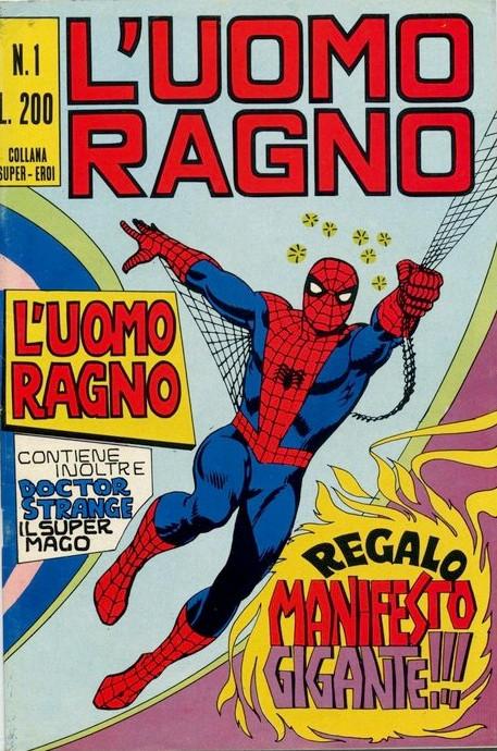 Couverture de L'uomo Ragno V1 (Editoriale Corno - 1970)  -1- L'Uomo Ragno