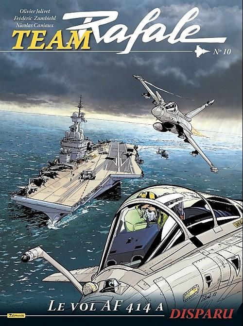 Couverture de Team Rafale -10- Le vol af 414 a disparu