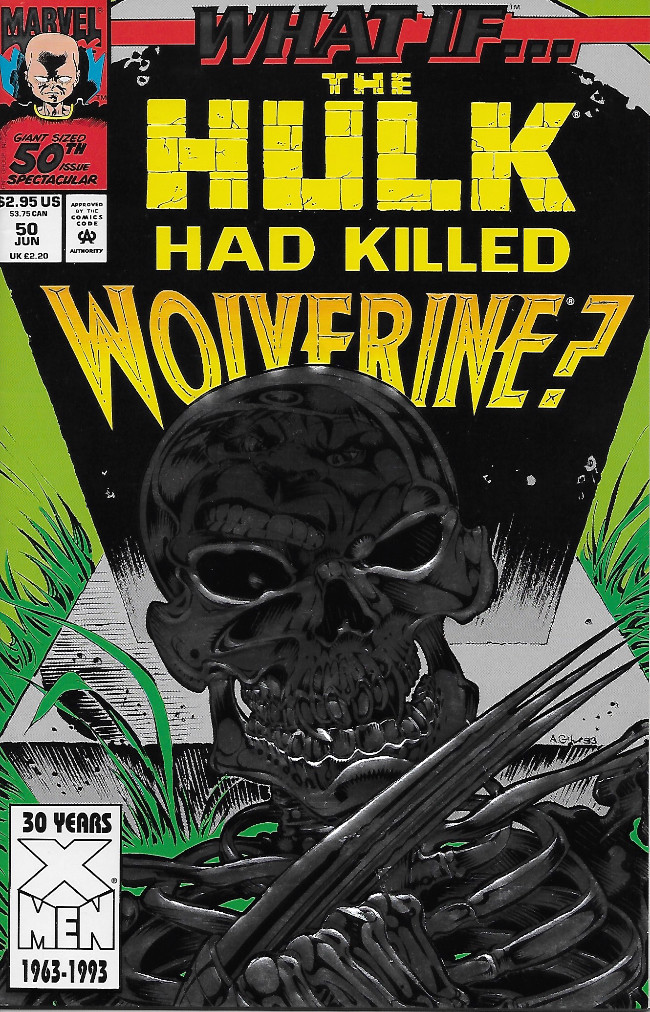 Couverture de What If? vol.2 (1989) -50- What if Hulk Killed Wolverine ?