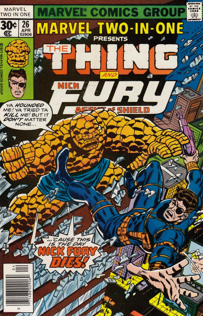 Couverture de Marvel Two-In-One (1974) -26- The Fixer and Mentallo Are Back and the World Will Never Be The Same!