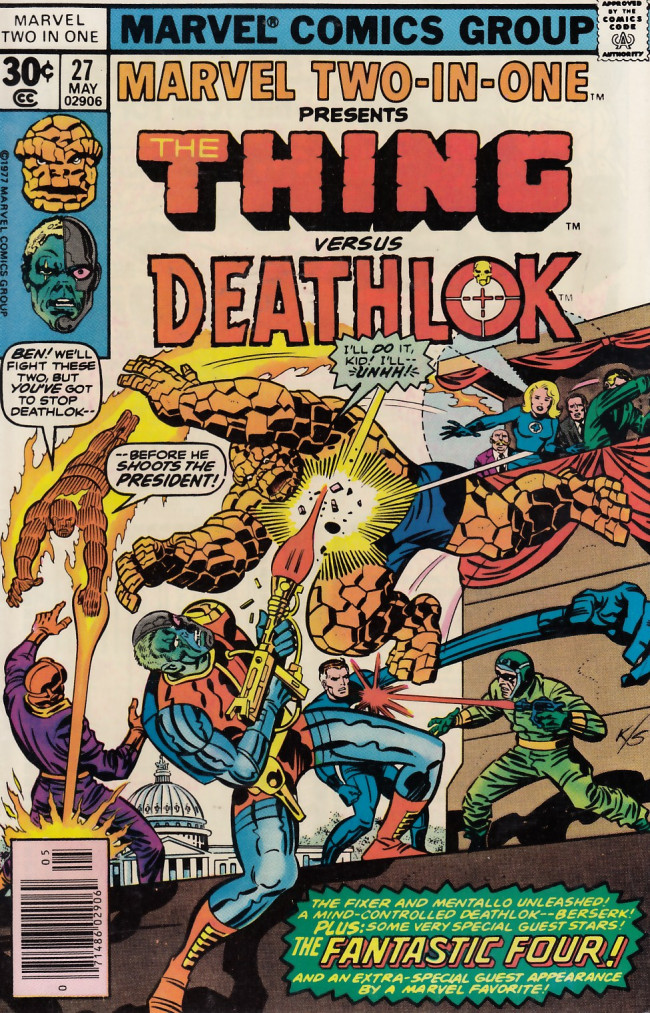 Couverture de Marvel Two-In-One (1974) -27- Day of the Demolisher!