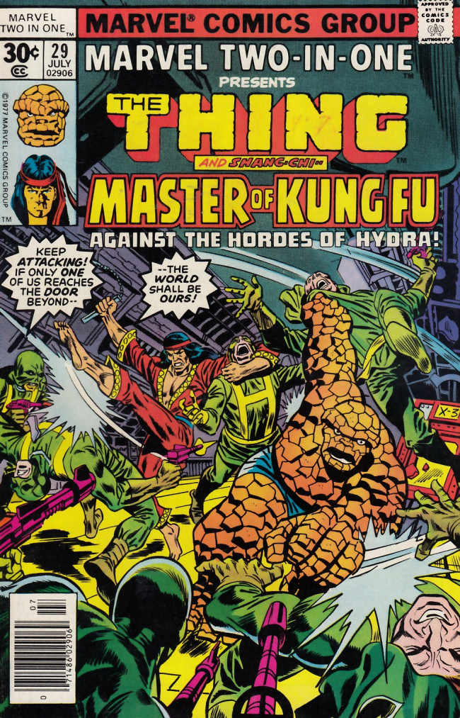 Couverture de Marvel Two-In-One (1974) -29- Two Against Hydra