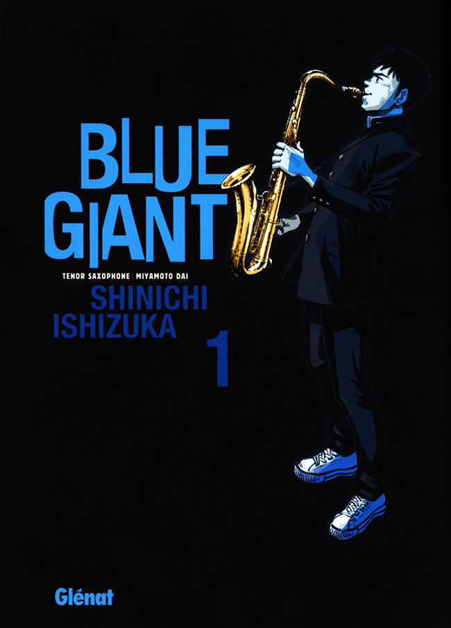 Couverture de Blue Giant -1- The Challenge