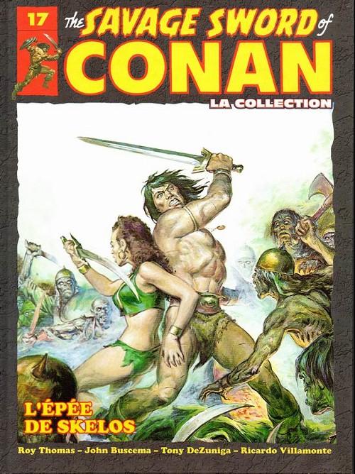 Couverture de Savage Sword of Conan (The) - La Collection (Hachette) -17- L'epée de skelos