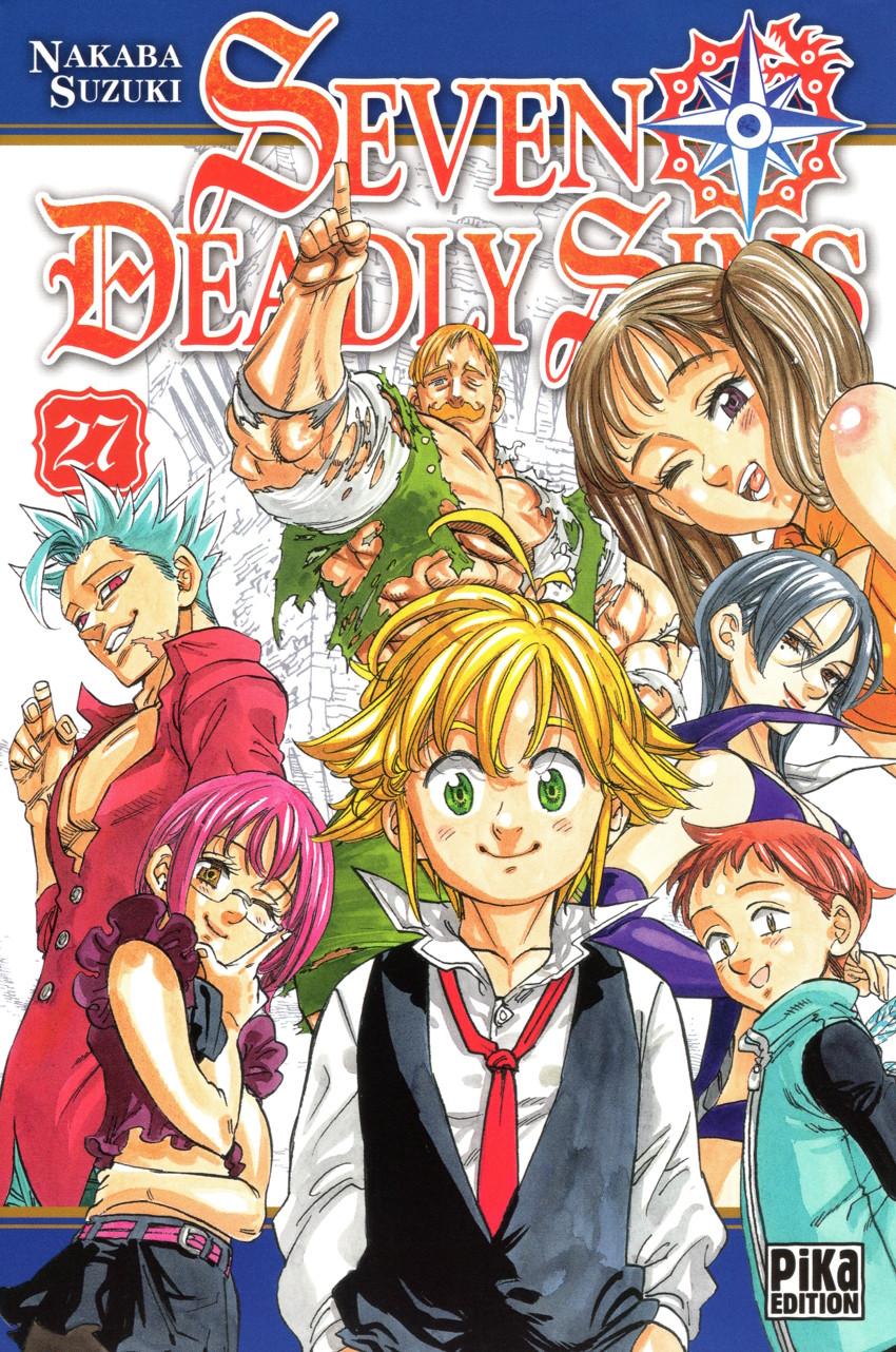 Couverture de Seven Deadly Sins -27- Tome 27