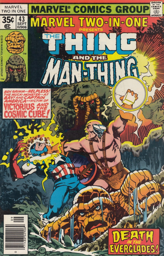 Couverture de Marvel Two-In-One (1974) -43- The Day the World Winds Down