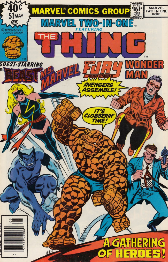 Couverture de Marvel Two-In-One (1974) -51- Full House-- Dragons High!