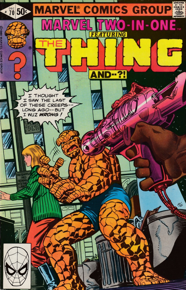Couverture de Marvel Two-In-One (1974) -70- A Moving Experience
