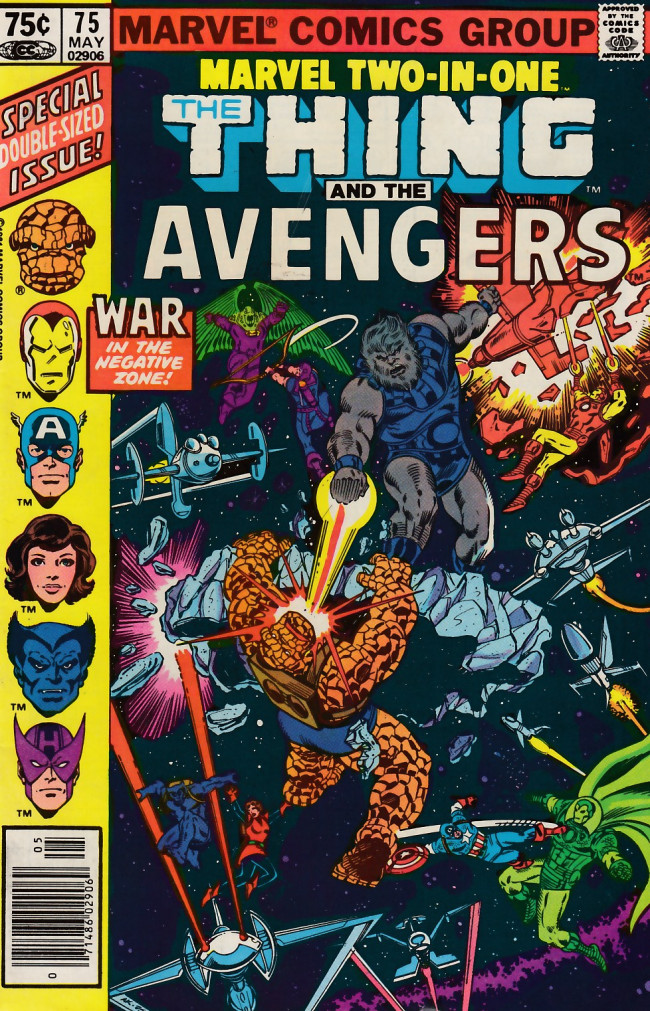 Couverture de Marvel Two-In-One (1974) -75- By Blastaar-- Betrayed!