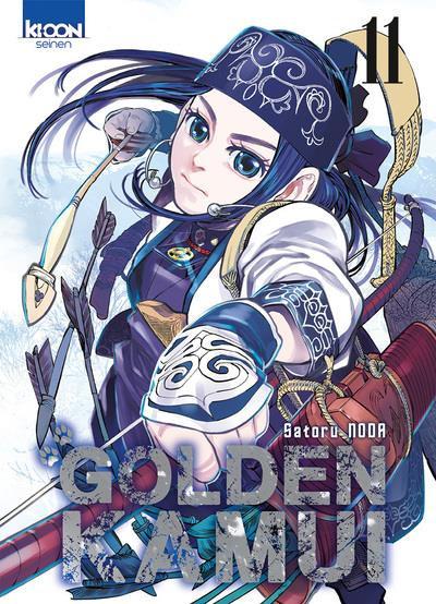 Couverture de Golden Kamui -11- Tome 11