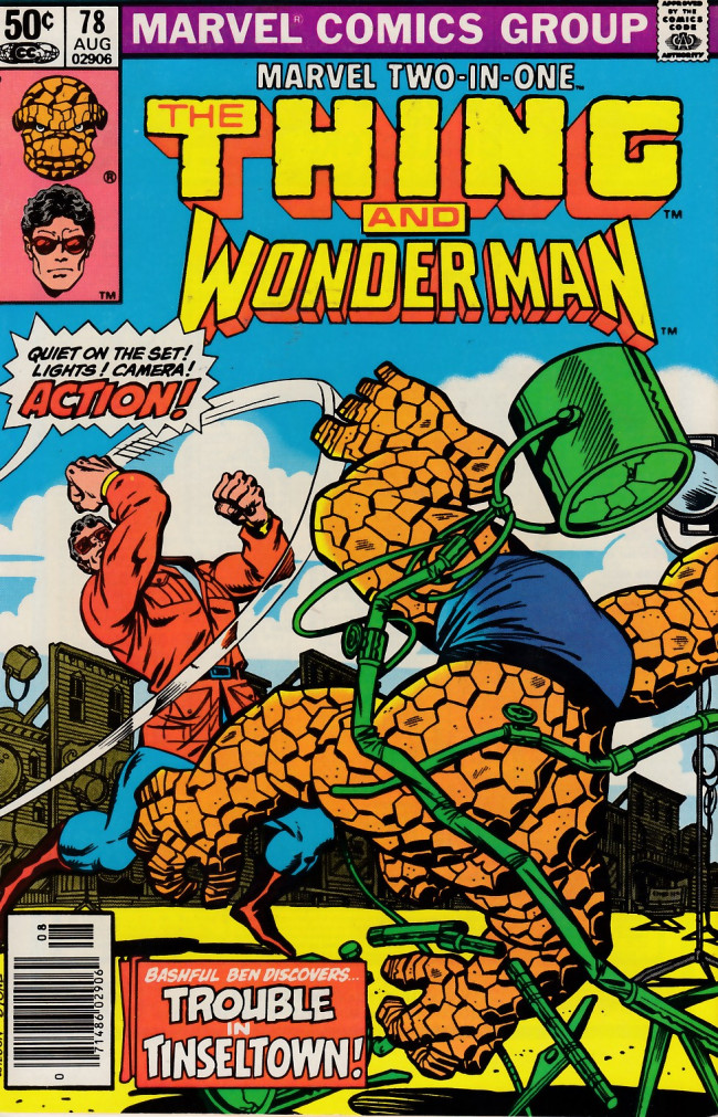 Couverture de Marvel Two-In-One (1974) -78- Monster Man!
