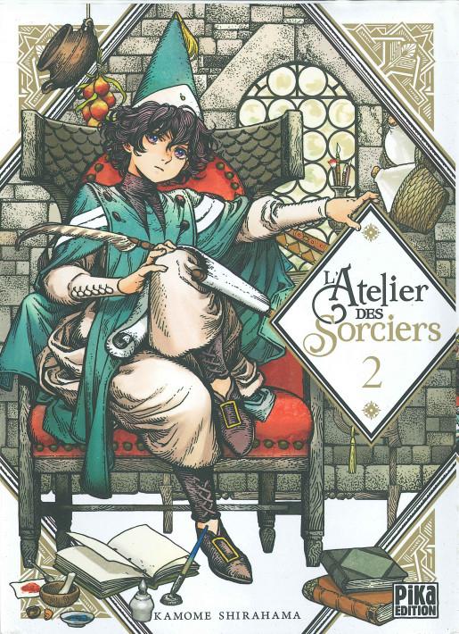 Couverture de L'atelier des sorciers -2- Volume 2