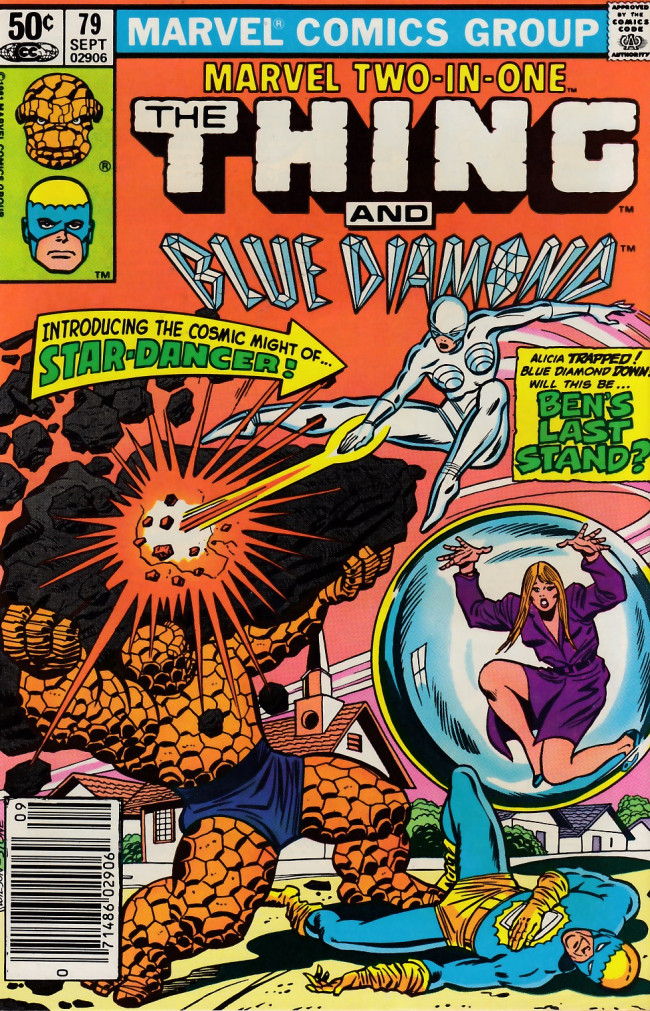 Couverture de Marvel Two-In-One (1974) -79- Shanga, The Star-Dancer!