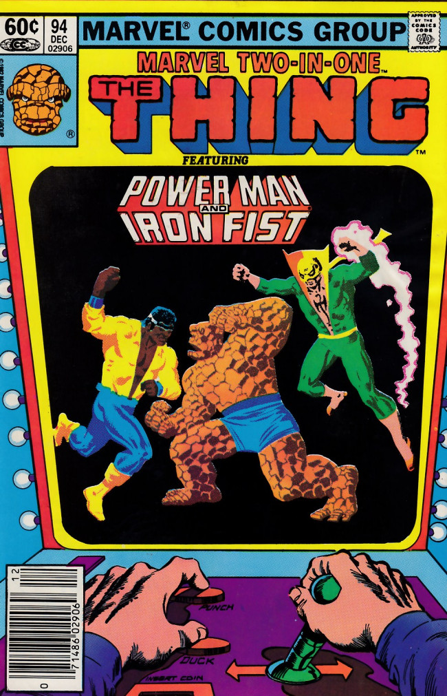 Couverture de Marvel Two-In-One (1974) -94- The Power Trap