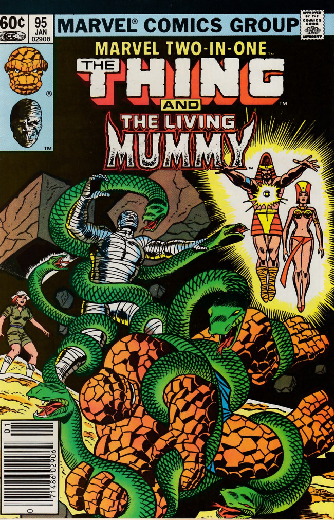 Couverture de Marvel Two-In-One (1974) -95- The Power To Live... The Power To Die