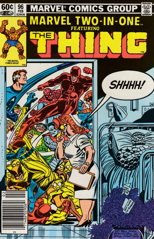 Couverture de Marvel Two-In-One (1974) -96- Visiting Hours!