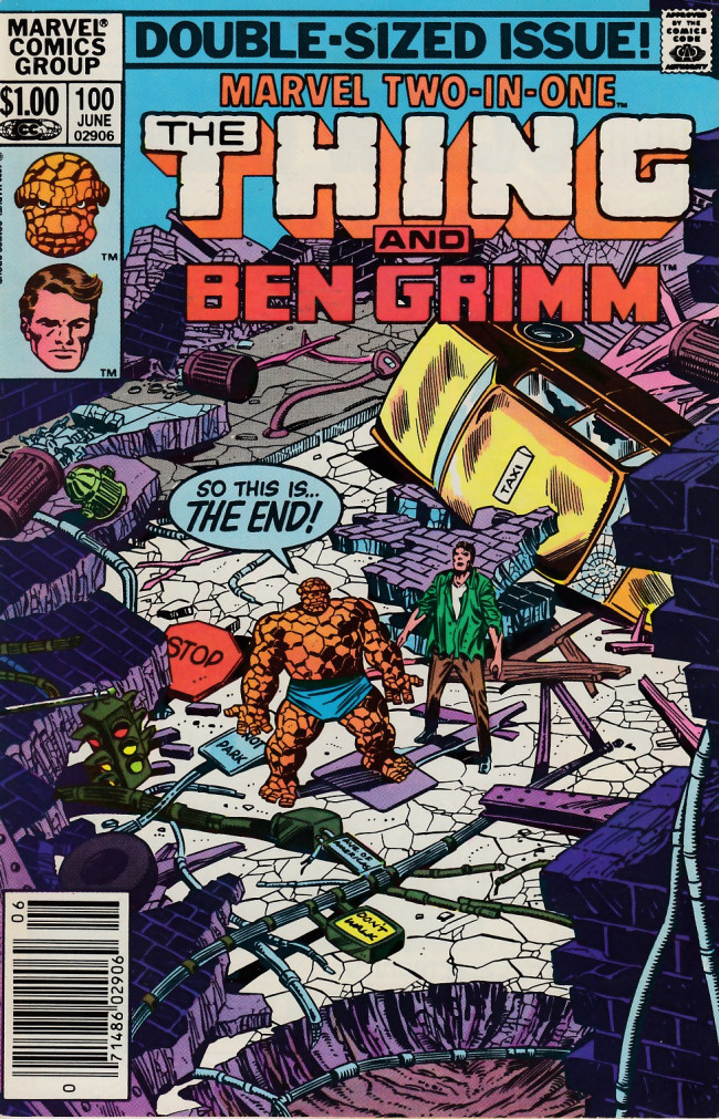 Couverture de Marvel Two-In-One (1974) -100- Aftermath!