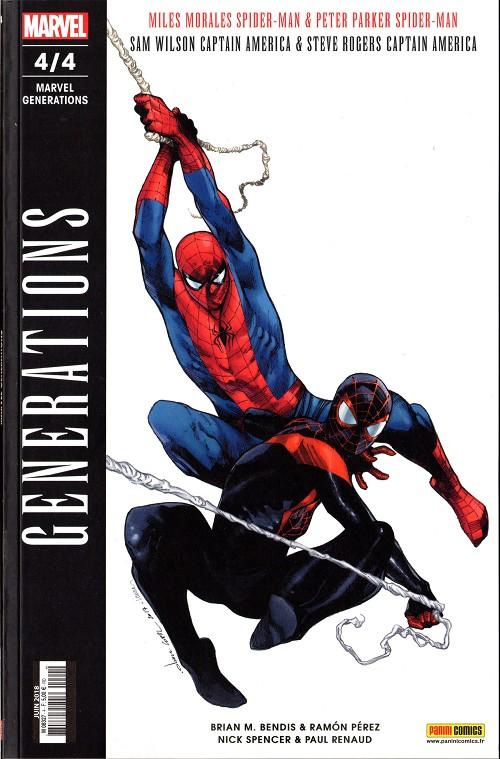 Couverture de Marvel Generations -4- 4/4