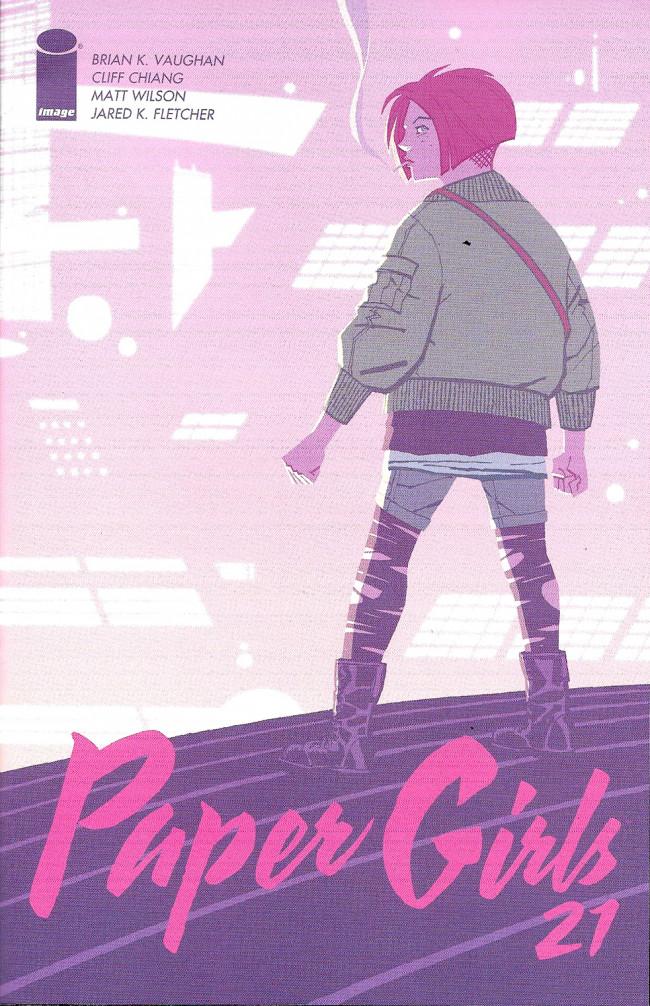 Couverture de Paper Girls (Image comics - 2015) -21- Paper Girls